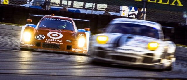 Cars on track during the 50th Rolex 24 Hours of Daytona (Photo Credit: Rolex/Tom O'Neal)