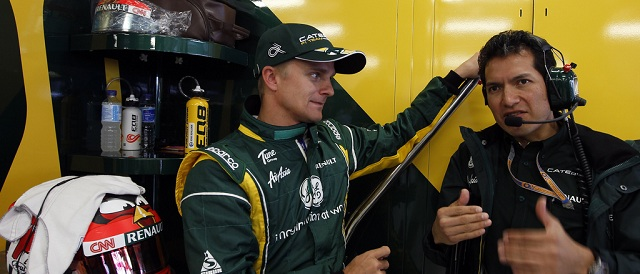Heikki Kovalainen - Photo Credit: Caterham F1 Team