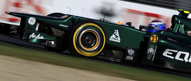 Vitaly Petrov - Photo Credit: Caterham F1 Team