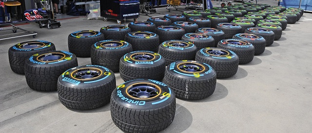 The new Cinturato Wet & Intermediate Tyres - Photo Credit: Pirelli