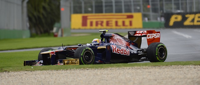Jean-Eric Vergne - Photo Credit: Scuderia Toro Rosso