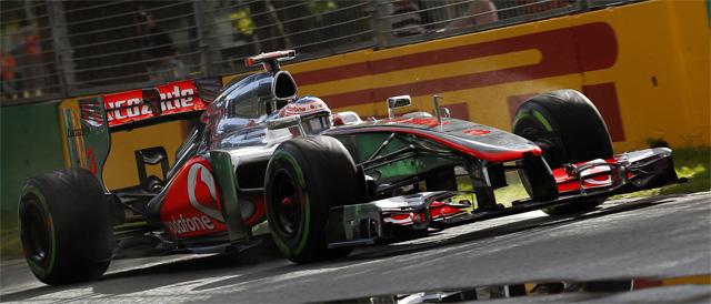 FP1 pace-setter Jenson Button - Photo: Vodafone Mclaren Mercedes