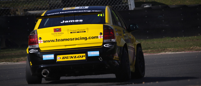 Chris James had a lucky escape in testing at Brands Hatch - Photo: StevenKnightley.com
