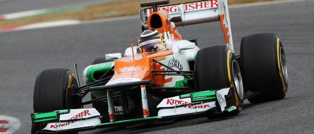 Nico Hulkenberg - Photo Credit: Sahara Force India Formula One Team