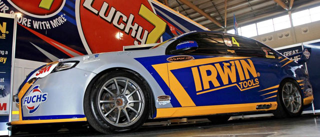 The Irwin Tools 2012 entry Photo credit: Stone Brothers Racing