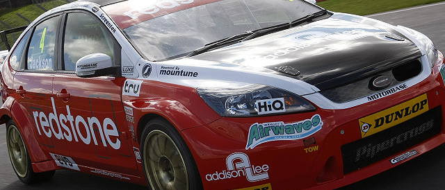 Mat Jackson, Redstone Racing Ford Focus ST (Photo Credit: BTCC.net)
