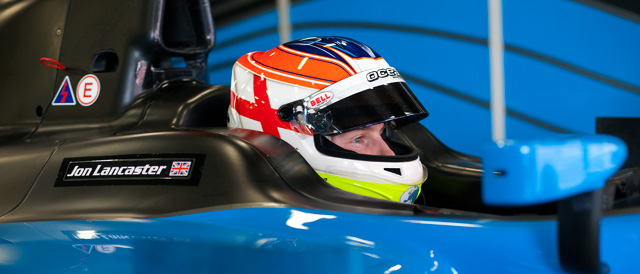 TCF's newest addition - GP2 rising star Jon Lancaster - Photo: GP2 Media