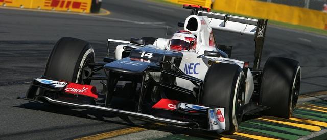 Kamui Kobayashi - Photo Credit: Sauber F1 Team