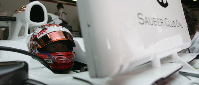 Kamui Kobayashi - Photo Credit: Sauber Motorsport AG