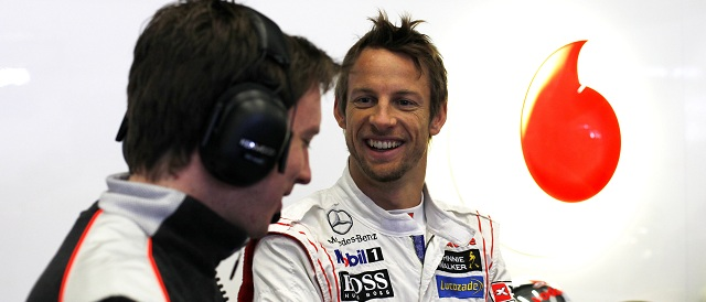 Jenson Button - Photo Credit: Vodafone McLaren Mercedes