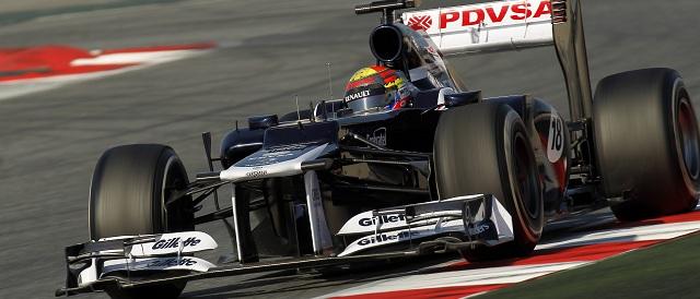 Pastor Maldonado - Photo Credit: Williams F1 Team