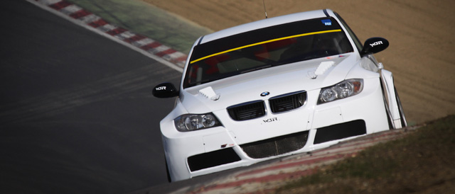 The turbo assisted WSR-BMW in testing earlier this week - Photo: StevenKnightley.com