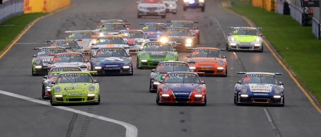 Porsche Carrera Cup Melbourne - Photo Credit: Porsche Cars Australia Pty Ltd