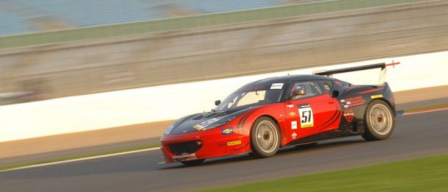 Team Bullrun's Lotus Evora, BEC Silverstone (Photo Credit: Chris Gurton Photography)