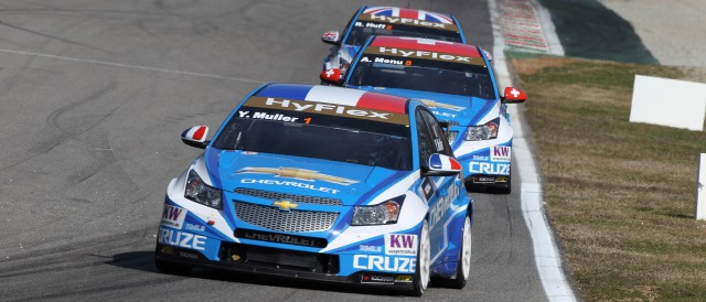 Yvan Muller, Alain Menu, Rob Huff - Photo Credit: fiawtcc.com
