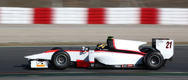 Tom Dillmann - Photo Credit: Daniel Kalisz/GP2 Series Media Service
