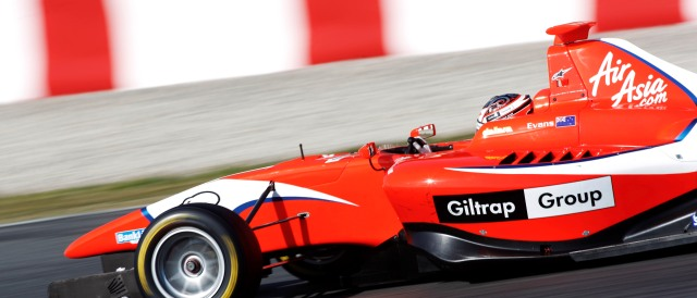 Mitch Evans - Photo Credit: Drew Gibson / GP3 Series Media Service