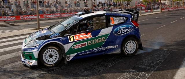 Jari-Matti Latvala lead the Rally de Portugal after day one (Photo Credit: World Rally Pics)