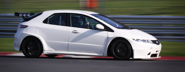Tony Gilham, Brands Hatch test (Photo Credit: StevenKnightley.com)
