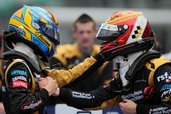 James Calado and Esteban Gutierrez - Photo Credit: Lorenzo Bellanca/GP2 Series Media Service