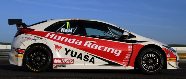 Honda Racing unveil their 2012 racing colours (Photo Credit: Honda)