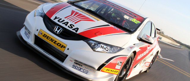 Honda will be looking to defend their pride in 2012 - Photo: BTCC.net