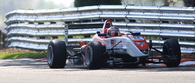 Fahmi Ilyas drove for Fortec Motorsport in 2011 (Photo Credit: SRO)