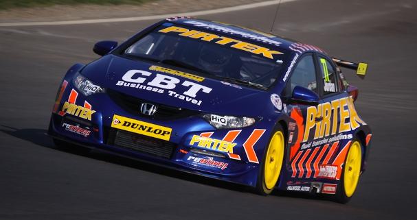 Andrew Jordan, Brands Hatch test (Photo Credit: StevenKnightley.com)