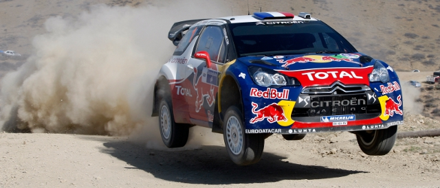 Sebastien Loeb on 2012 Rally Mexico (Photo Credit: Citroen Racing Media)