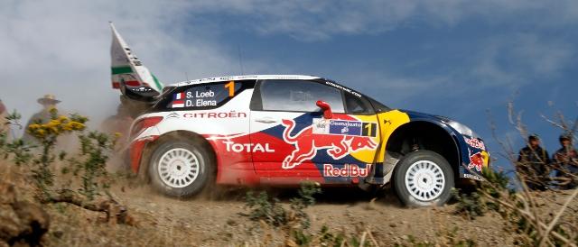 Sebastien Loeb (Photo Credit: Citroen Racing Media)