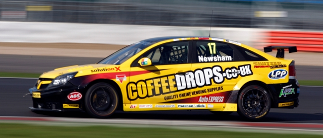 Dave Newsham, with Team ES Racing for 2012, was the surprise time topper in media day testing (Photo Credit: btcc.net)
