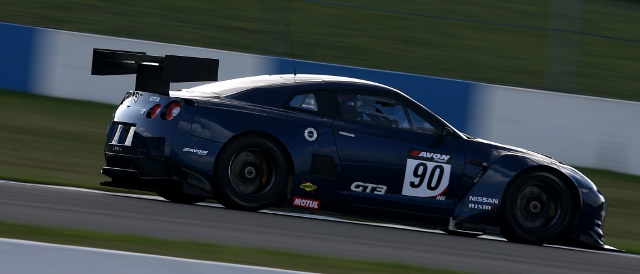Nissan's GT3 GT-R raced at Donington Park last year as part of its development (Photo Credit: SRO)