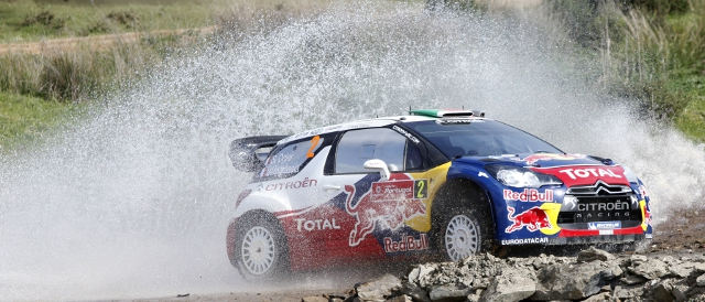 Sebastien Ogier won Rally de Portugal for Citroen last season, he will return for Skoda in 2012 (Photo Credit: Citroen Racing Media)