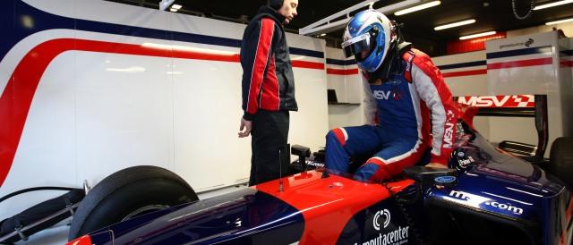 Jolyon Palmer - Photo Credit: Daniel Kalisz/GP2 Series Media Service