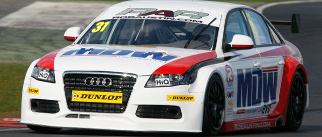 Rob Austin Racing, Audi A4 (Photo Credit: btcc.net)