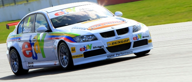 Rob Collard led three rear-wheel-drive cars atop first practice (Photo Credit: btcc.net)