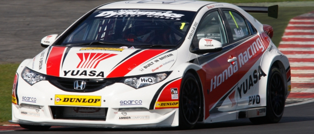 Honda Yuasa Racing, Honda Civic (Photo Credit: btcc.net)