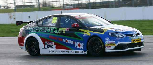 MG KX Momentum Racing, MG6 (Photo Credit: btcc.net)