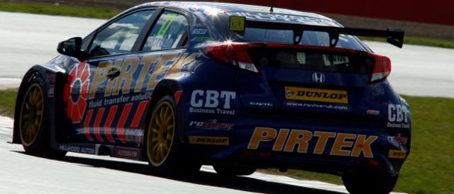 Pirtek Racing, Honda Civic (Photo Credit: btcc.net)