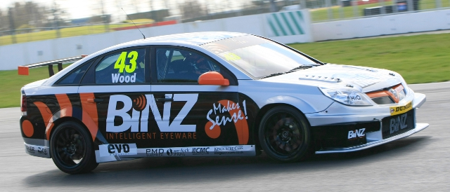 Team Wood Racing, Vauxhall Vectra (Photo Credit: btcc.net)