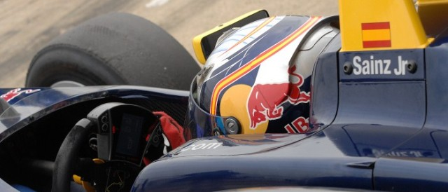 Carlos Sainz Jr. waits to take to the Silverstone circuit (Photo Credit: Chris Gurton Photography)
