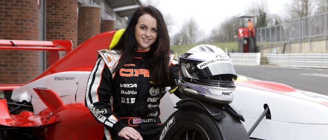 Laura Tillett will make the jump into cars for 2012 in Formula Renault BARC
