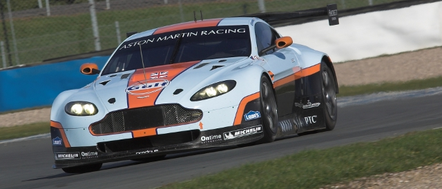 Aston Martin Racing's new Vantage GTE (Photo Credit: Aston Martin)