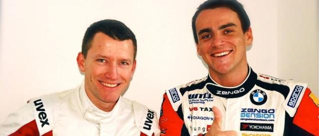 Gabor Weber and Norbert Michelisz - Photo Credit: Zengo