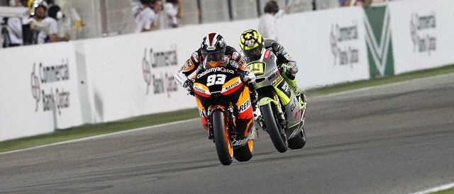 Marc Marquez claims victory in Qatar: Photo Credit: MotoGP.com