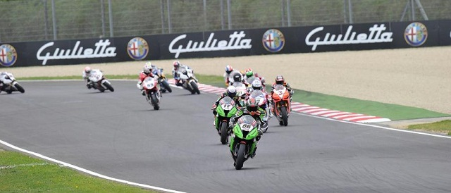 World Superbikes in action at Imola - Photo Credit: WorldSBK.com