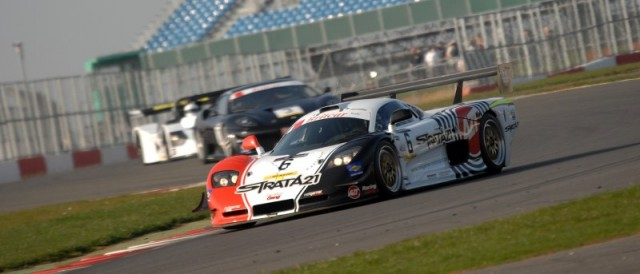 The Neil Garner Motorsport run Mosler won the BEC opener at Silverstone (Photo Credit: Chris Gurton Photography)