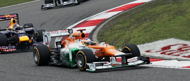 Paul di Resta - Photo Credit: Sahara Force India F1 Team
