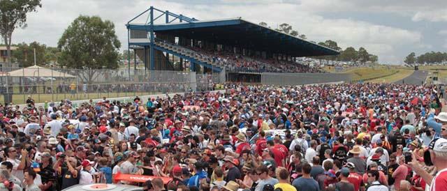 Eastern Creek Raceway Photo credit: Australian Racing Drivers' Club