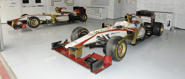 The F112 will not be gracing the circuit at Mugello next week - Photo Credit: HRT